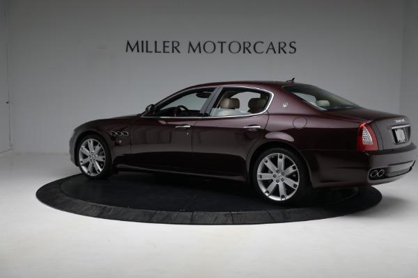 Used 2011 Maserati Quattroporte for sale $37,900 at Bugatti of Greenwich in Greenwich CT 06830 5