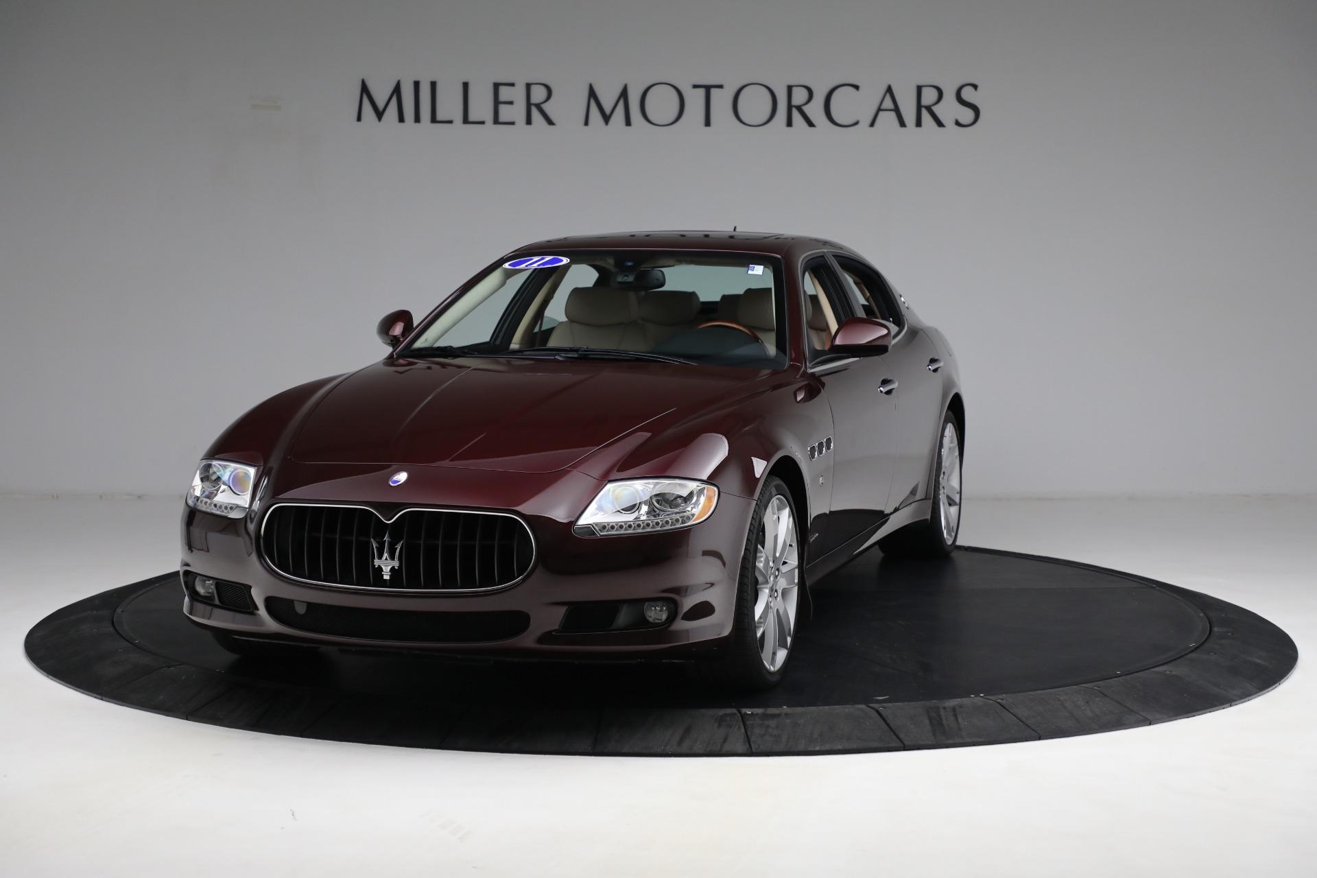 Used 2011 Maserati Quattroporte for sale $37,900 at Bugatti of Greenwich in Greenwich CT 06830 1