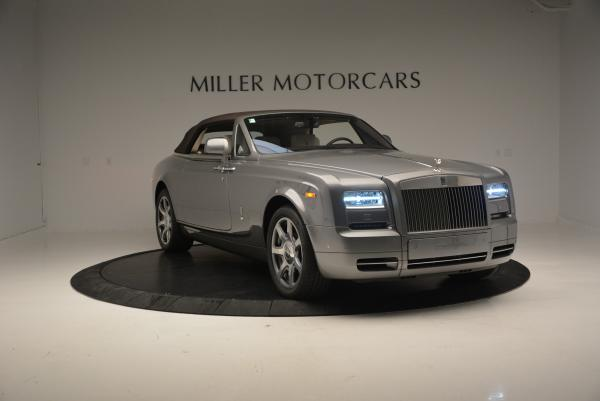 Used 2015 Rolls-Royce Phantom Drophead Coupe for sale Sold at Bugatti of Greenwich in Greenwich CT 06830 24