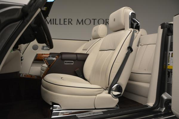 Used 2015 Rolls-Royce Phantom Drophead Coupe for sale Sold at Bugatti of Greenwich in Greenwich CT 06830 26