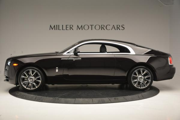 Used 2017 Rolls-Royce Wraith for sale Sold at Bugatti of Greenwich in Greenwich CT 06830 3