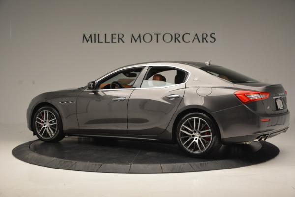 Used 2017 Maserati Ghibli S Q4  EX-LOANER for sale Sold at Bugatti of Greenwich in Greenwich CT 06830 4