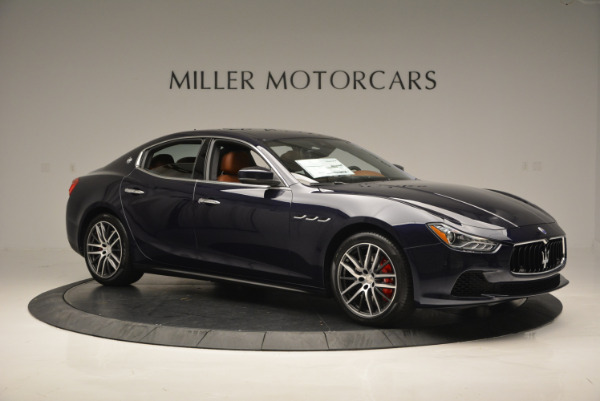 Used 2017 Maserati Ghibli S Q4 - EX Loaner for sale Sold at Bugatti of Greenwich in Greenwich CT 06830 10