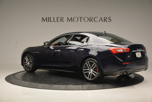 Used 2017 Maserati Ghibli S Q4 - EX Loaner for sale Sold at Bugatti of Greenwich in Greenwich CT 06830 4