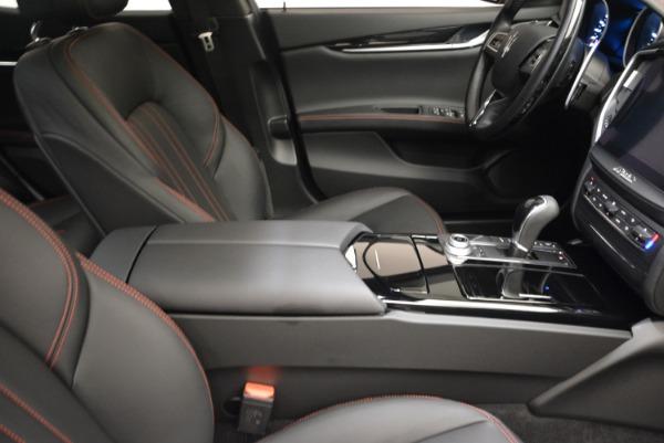 Used 2017 Maserati Ghibli S Q4 - EX Loaner for sale Sold at Bugatti of Greenwich in Greenwich CT 06830 21