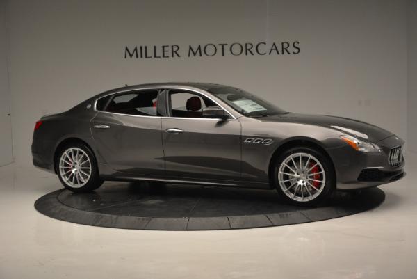 New 2017 Maserati Quattroporte S Q4 GranLusso for sale Sold at Bugatti of Greenwich in Greenwich CT 06830 10