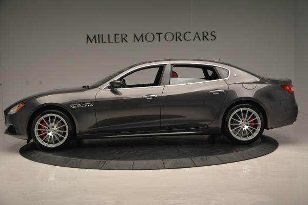 New 2017 Maserati Quattroporte S Q4 GranLusso for sale Sold at Bugatti of Greenwich in Greenwich CT 06830 3