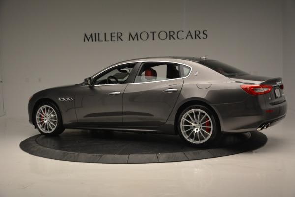 New 2017 Maserati Quattroporte S Q4 GranLusso for sale Sold at Bugatti of Greenwich in Greenwich CT 06830 4