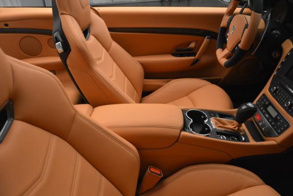 New 2017 Maserati GranTurismo MC CONVERTIBLE for sale Sold at Bugatti of Greenwich in Greenwich CT 06830 28