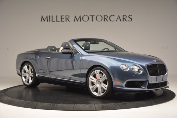 Used 2014 Bentley Continental GT V8 S Convertible for sale Sold at Bugatti of Greenwich in Greenwich CT 06830 10