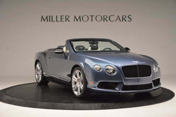 Used 2014 Bentley Continental GT V8 S Convertible for sale Sold at Bugatti of Greenwich in Greenwich CT 06830 11