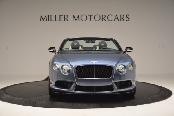 Used 2014 Bentley Continental GT V8 S Convertible for sale Sold at Bugatti of Greenwich in Greenwich CT 06830 12
