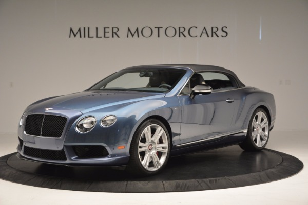 Used 2014 Bentley Continental GT V8 S Convertible for sale Sold at Bugatti of Greenwich in Greenwich CT 06830 14