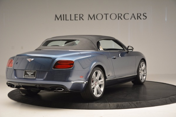 Used 2014 Bentley Continental GT V8 S Convertible for sale Sold at Bugatti of Greenwich in Greenwich CT 06830 18