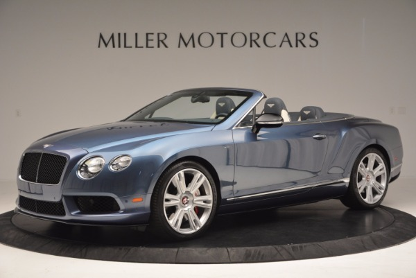 Used 2014 Bentley Continental GT V8 S Convertible for sale Sold at Bugatti of Greenwich in Greenwich CT 06830 2