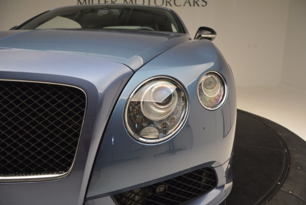 Used 2014 Bentley Continental GT V8 S Convertible for sale Sold at Bugatti of Greenwich in Greenwich CT 06830 23