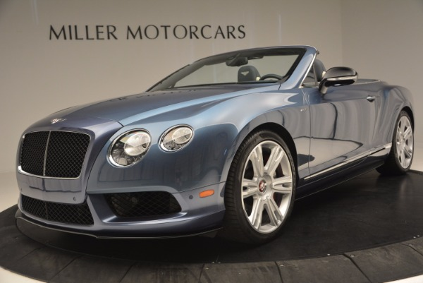 Used 2014 Bentley Continental GT V8 S Convertible for sale Sold at Bugatti of Greenwich in Greenwich CT 06830 24