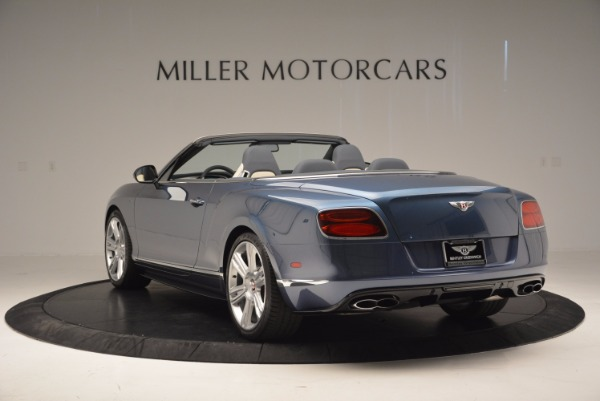 Used 2014 Bentley Continental GT V8 S Convertible for sale Sold at Bugatti of Greenwich in Greenwich CT 06830 5