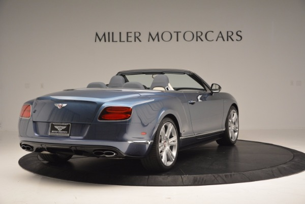 Used 2014 Bentley Continental GT V8 S Convertible for sale Sold at Bugatti of Greenwich in Greenwich CT 06830 7