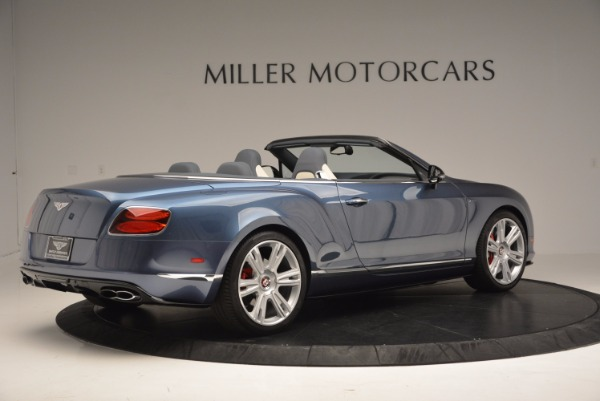 Used 2014 Bentley Continental GT V8 S Convertible for sale Sold at Bugatti of Greenwich in Greenwich CT 06830 8