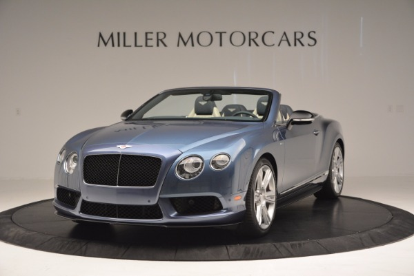 Used 2014 Bentley Continental GT V8 S Convertible for sale Sold at Bugatti of Greenwich in Greenwich CT 06830 1