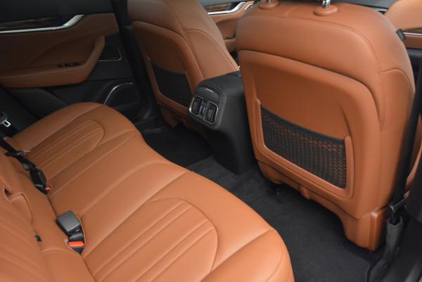 New 2017 Maserati Levante S for sale Sold at Bugatti of Greenwich in Greenwich CT 06830 23