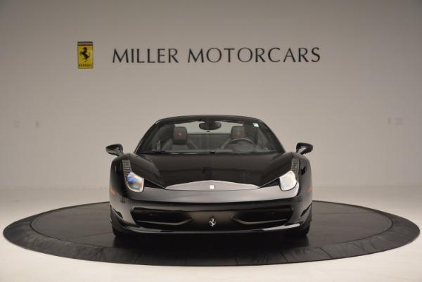 Used 2014 Ferrari 458 Spider for sale Sold at Bugatti of Greenwich in Greenwich CT 06830 12