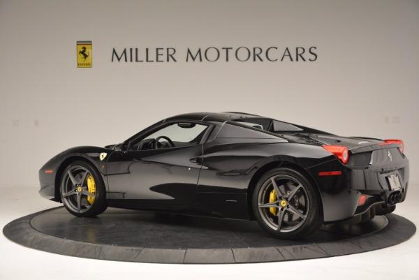 Used 2014 Ferrari 458 Spider for sale Sold at Bugatti of Greenwich in Greenwich CT 06830 16