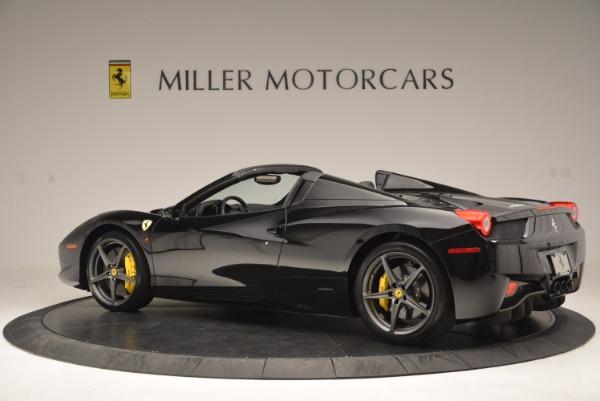 Used 2014 Ferrari 458 Spider for sale Sold at Bugatti of Greenwich in Greenwich CT 06830 4