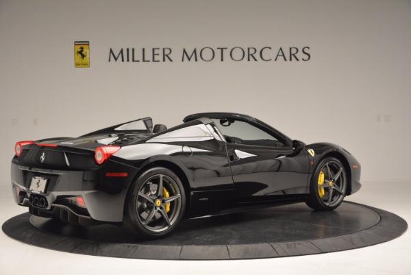 Used 2014 Ferrari 458 Spider for sale Sold at Bugatti of Greenwich in Greenwich CT 06830 8