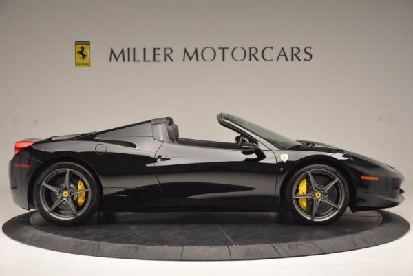 Used 2014 Ferrari 458 Spider for sale Sold at Bugatti of Greenwich in Greenwich CT 06830 9