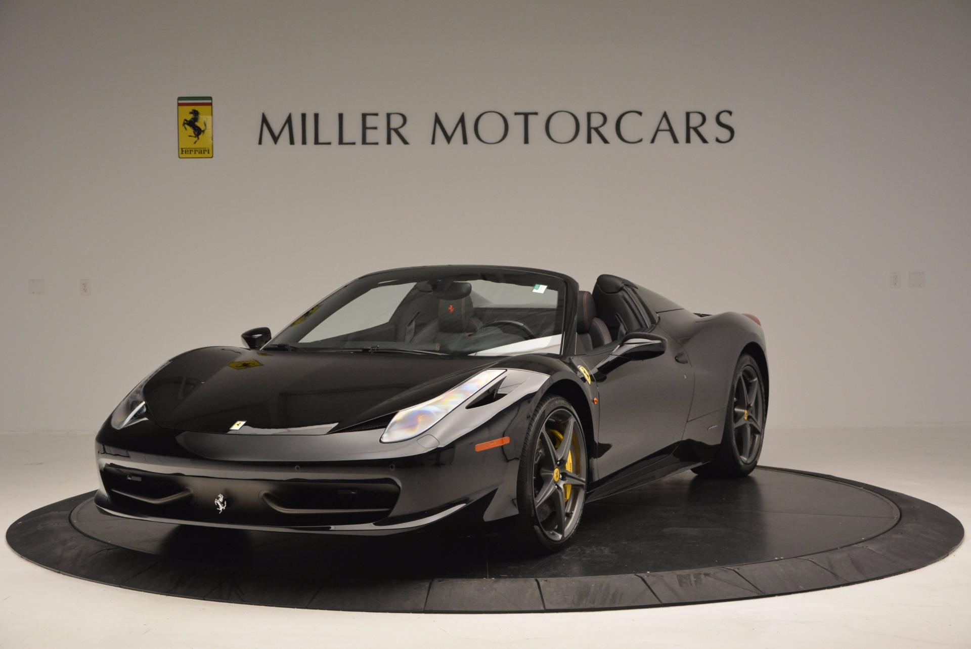 Used 2014 Ferrari 458 Spider for sale Sold at Bugatti of Greenwich in Greenwich CT 06830 1
