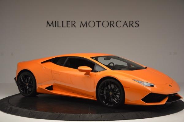 Used 2015 Lamborghini Huracan LP 610-4 for sale Sold at Bugatti of Greenwich in Greenwich CT 06830 10