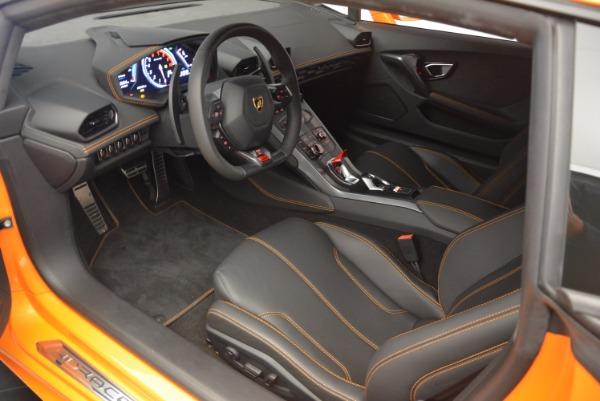 Used 2015 Lamborghini Huracan LP 610-4 for sale Sold at Bugatti of Greenwich in Greenwich CT 06830 13