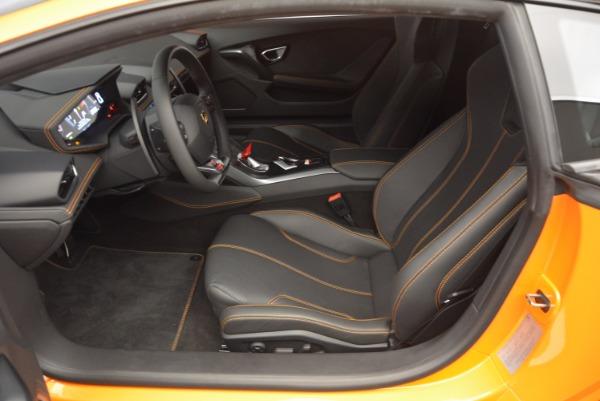 Used 2015 Lamborghini Huracan LP 610-4 for sale Sold at Bugatti of Greenwich in Greenwich CT 06830 14