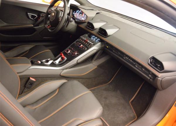 Used 2015 Lamborghini Huracan LP 610-4 for sale Sold at Bugatti of Greenwich in Greenwich CT 06830 17
