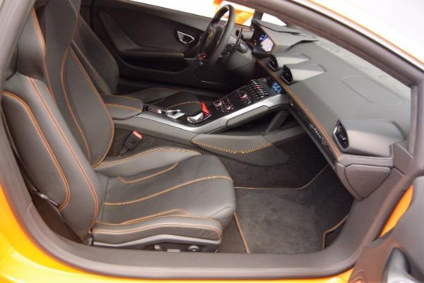 Used 2015 Lamborghini Huracan LP 610-4 for sale Sold at Bugatti of Greenwich in Greenwich CT 06830 18