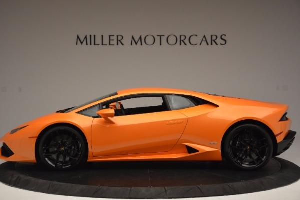 Used 2015 Lamborghini Huracan LP 610-4 for sale Sold at Bugatti of Greenwich in Greenwich CT 06830 3