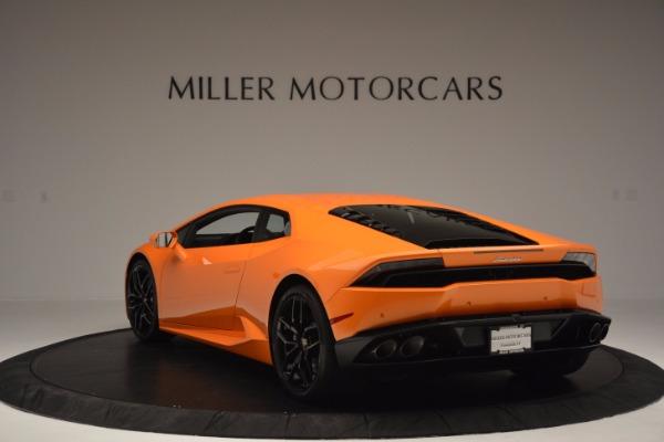 Used 2015 Lamborghini Huracan LP 610-4 for sale Sold at Bugatti of Greenwich in Greenwich CT 06830 5