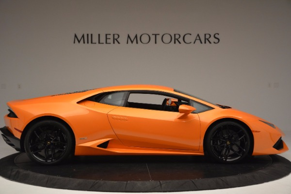 Used 2015 Lamborghini Huracan LP 610-4 for sale Sold at Bugatti of Greenwich in Greenwich CT 06830 9