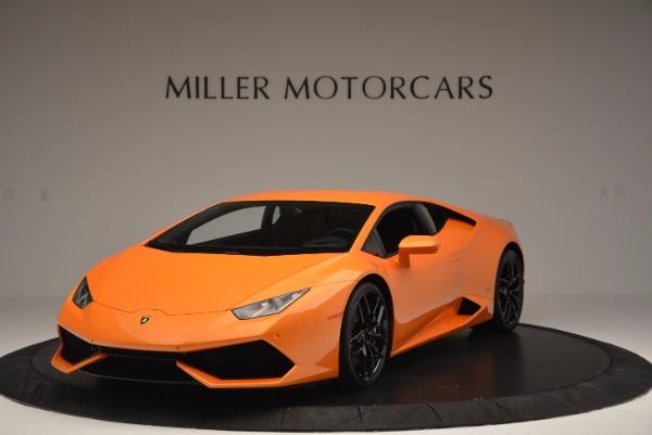 Used 2015 Lamborghini Huracan LP 610-4 for sale Sold at Bugatti of Greenwich in Greenwich CT 06830 1