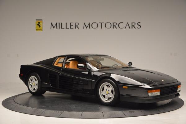 Used 1989 Ferrari Testarossa for sale Sold at Bugatti of Greenwich in Greenwich CT 06830 10