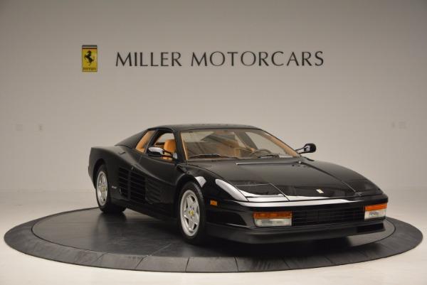 Used 1989 Ferrari Testarossa for sale Sold at Bugatti of Greenwich in Greenwich CT 06830 11