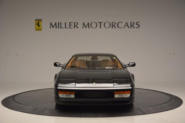 Used 1989 Ferrari Testarossa for sale Sold at Bugatti of Greenwich in Greenwich CT 06830 12