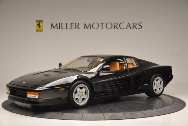Used 1989 Ferrari Testarossa for sale Sold at Bugatti of Greenwich in Greenwich CT 06830 2