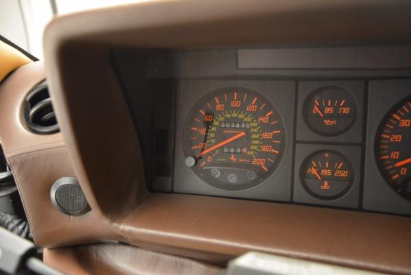 Used 1989 Ferrari Testarossa for sale Sold at Bugatti of Greenwich in Greenwich CT 06830 20