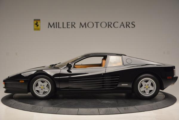 Used 1989 Ferrari Testarossa for sale Sold at Bugatti of Greenwich in Greenwich CT 06830 3