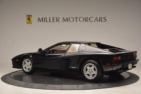 Used 1989 Ferrari Testarossa for sale Sold at Bugatti of Greenwich in Greenwich CT 06830 4