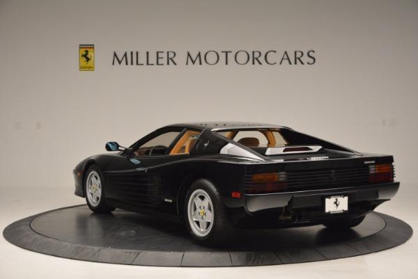 Used 1989 Ferrari Testarossa for sale Sold at Bugatti of Greenwich in Greenwich CT 06830 5