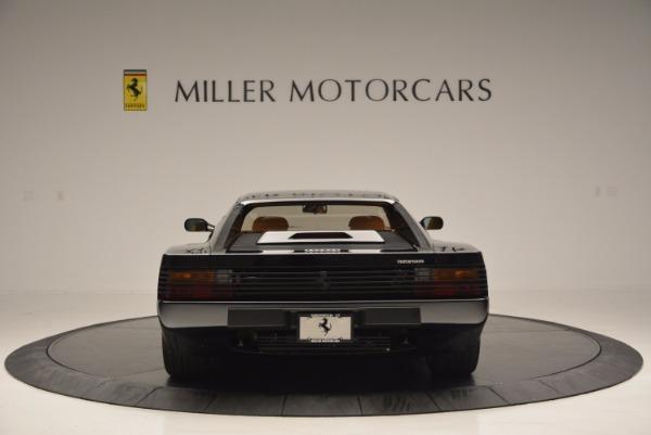 Used 1989 Ferrari Testarossa for sale Sold at Bugatti of Greenwich in Greenwich CT 06830 6